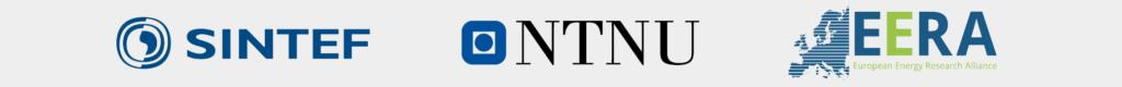Logos of SINTEF, NTNU and EERA (European Energy Research Alliance)